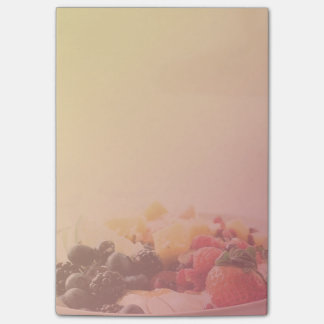 Ombre Fruit Bowl Breakfast Food Snack Nutrition Post-it Notes