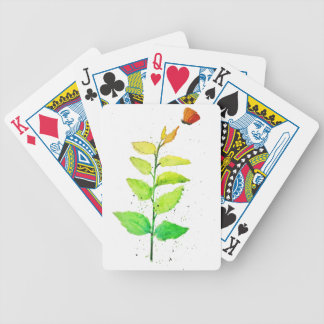 Ombre Garden Bicycle Playing Cards