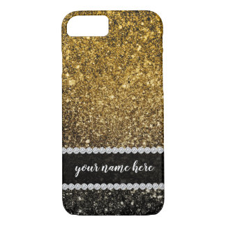 Ombre glitter sparkling iPhone 8/7 case
