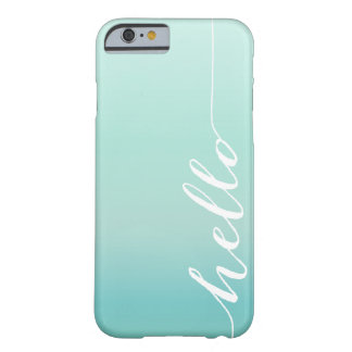 OMBRE HELLO | iPhone 6 case Barely There iPhone 6 Case