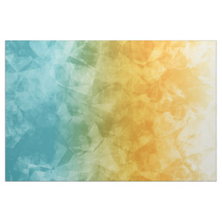 Ombre Ice Turquoise Yellow ID115 Fabric