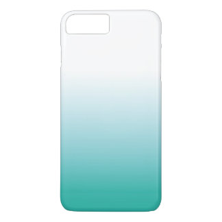 OMBRE IPHONE CASE - TURQUOISE COLORWAY