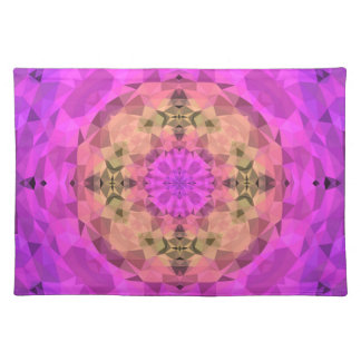 Ombre Kaleidoscope 1 Placemat