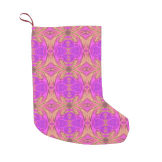 Ombre Kaleidoscope 3 Small Christmas Stocking