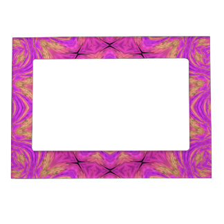 Ombre Kaleidoscope 4 Magnetic Picture Frame