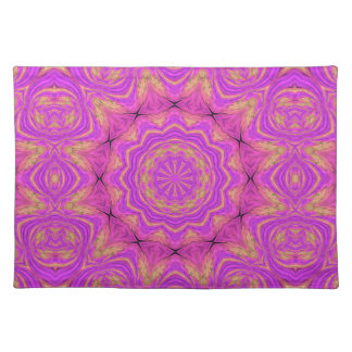Ombre Kaleidoscope 4 Placemat