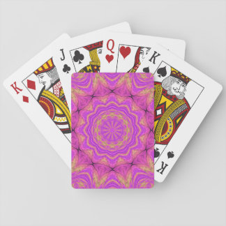 Ombre Kaleidoscope 4 Playing Cards