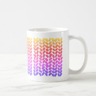 Ombre Knitting Mug