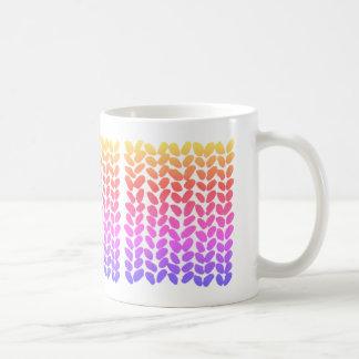 Ombre Knitting Mug