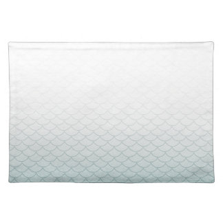 Ombre Mermaid Scales Placemat