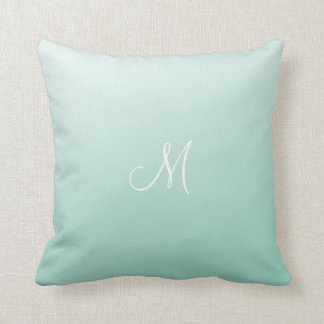 Ombre Mint Green Cushion