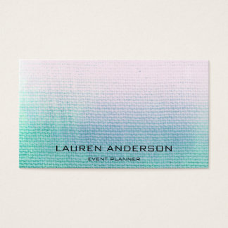 Ombre Pastel Linen Painting Event Planner Vip
