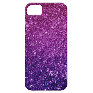 Ombre Pink & Purple Glitter Case