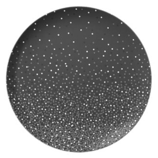 Ombre Polka Dot Plate