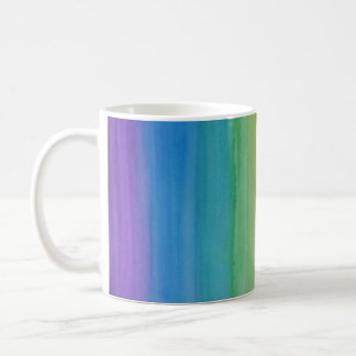 Ombre Watercolor Print Mug Summer Colours: