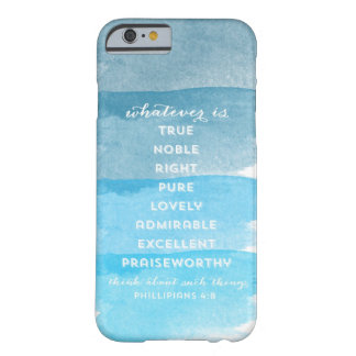 Ombre Watercolor Scripture iPhone 6 case Barely There iPhone 6 Case