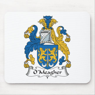 O'Meagher Family Crest Mouse Pad