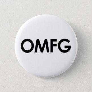 Omfg 6 Cm Round Badge