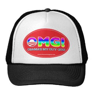 OMG 2012--Obama's My Guy 2012 Mesh Hat