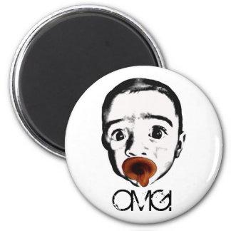 OMG baby magnet