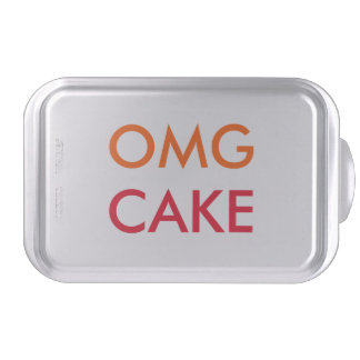 OMG Cake | Funny Covered Custom Baking Cake Pan