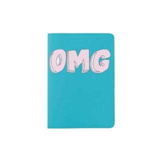 OMG Doodle Passport Holder