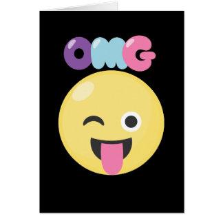 OMG Emoji Card