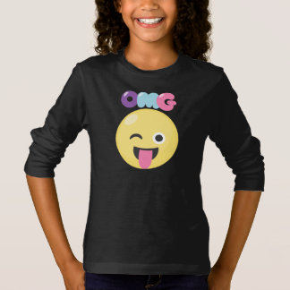OMG Emoji Girls T-Shirt