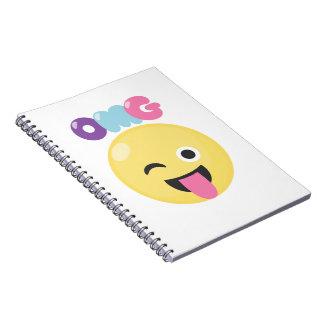 OMG Emoji Notebook