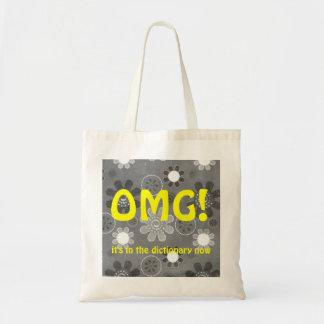 OMG English Texting Bag