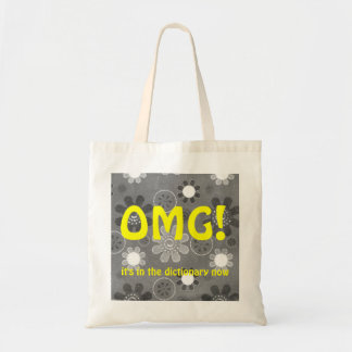 OMG English Texting Budget Tote Bag