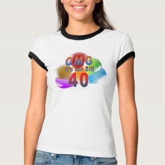 OMG Fortieth Birthday T-Shirt