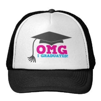 OMG I GRADUATED! great graduation gift Cap