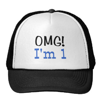 OMG I'm 1 (blue) Cap