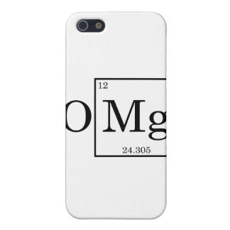 OMG - Magnesium - Mg - periodic table iPhone 5/5S Case