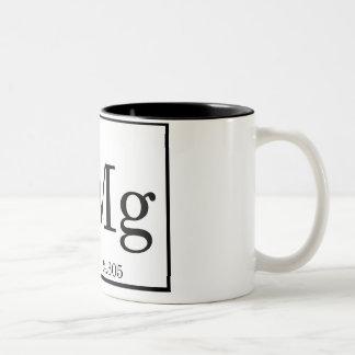OMG - Magnesium - Mg - periodic table Two-Tone Mug