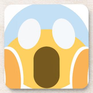 OMG Maupassant Emoji Coasters
