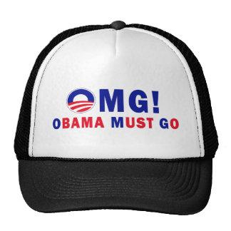 OMG! Obama Must Go! Trucker Hat