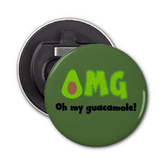 OMG Oh My Guacamole - Funny Bottle Opener