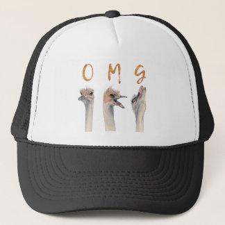 OMG Ostriches Trucker Hat
