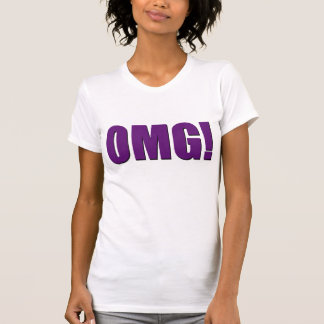 OMG! purple T-Shirt