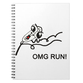 OMG run! - meme Journal