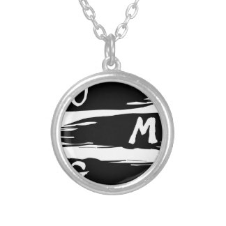 OMG SILVER PLATED NECKLACE