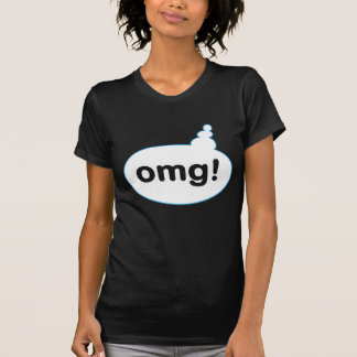 OMG Speech and Text Bubble T-Shirt v2