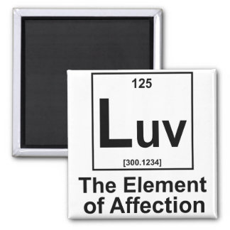 OMG The Element of Surprise Square Magnet