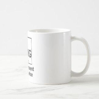 OMG The Element os Surprise Basic White Mug