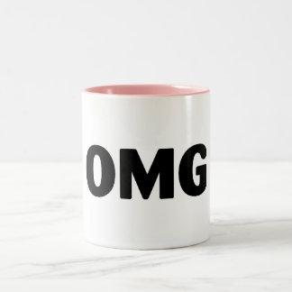 OMG Two-Tone COFFEE MUG