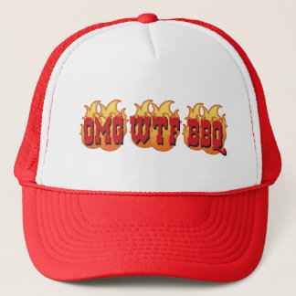 OMG WTF BBQ CAP