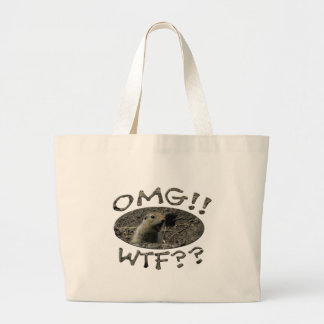 OMG WTF Gopher Canvas Bags