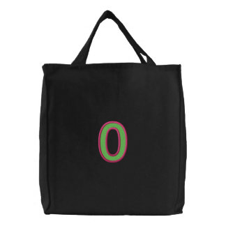 Omicron Column with Fill (Pt1) Canvas Bag